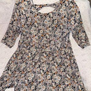 Plus Size F21 Floral Dress